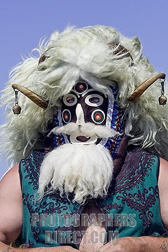 A Masked Mummer in Kazunlak