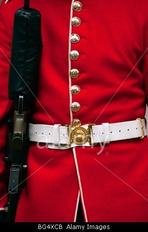BG4XCB Detail of a Grenadier Guard Uniform by John Rocha