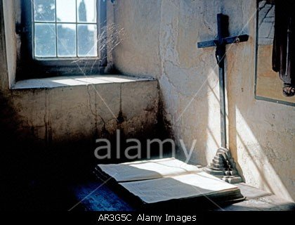 Monastery Cell In Fiesole In Tuscany In Italy stockphoto by John rocha