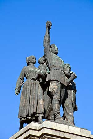 IMG_3091_Russian_Army_Monument in Sofia, Bulgaria stockphoto by John Rocha