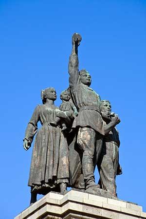 IMG_3091_Russian_Army_Monument in Sofia, Bulgaria stockphoto by John Rocha
