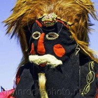 Masked Mummer Portraits From Bulgaria