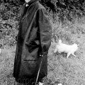 Bill with his Dogs the beauty of black and white