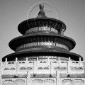 The Temple of Heaven, Beijing the beauty of black and white