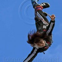 Bungy Jumper in the Boris Gardens Portraits From Bulgaria