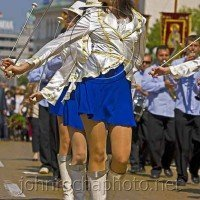 Cheerleaders on Saint George's Day Portraits From Bulgaria