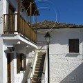 Courtyard, Lamp, Stairs Thassos