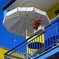 Balcony with Umbrella Thassos