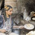 Woman Baking images of Egypt