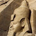 Rameses 11 at Abu Simbel images of Egypt