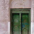 Palm Doorway in Nizwa Oman