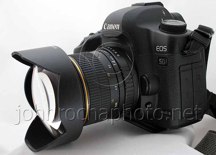 Samyang 14mm lens on Canon 5D Mark 11